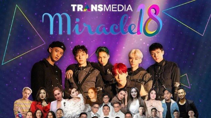 HARI INI, NCT Dream & EXO Tampil di HUT Trans Media ke-18, Live Streaming di Sini, Ada Ayu Ting Ting