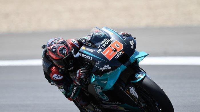 Fabio Quartararo jadi yang tercepat usai kalahkan Franco Morbidelli, sementara Valentino Rossi Melempem di FP2 MotoGP Ceko 2020