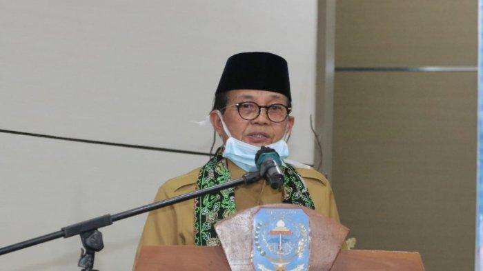 Gubernur Jambi Fachrori Umar saat berkunjung di Merangin