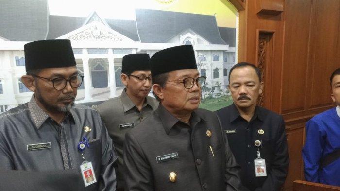 Terkait Hasil Pilkada, Gubernur Jambi Fachrori Umar Imbau Masyarakat dan Semua Pihak Bersabar