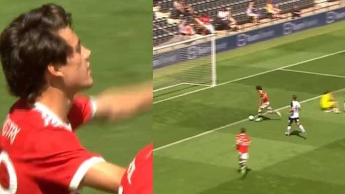 Video Gol Facundo Pellistri Bawa Manchester United Semankin Unggul dari Derby Country