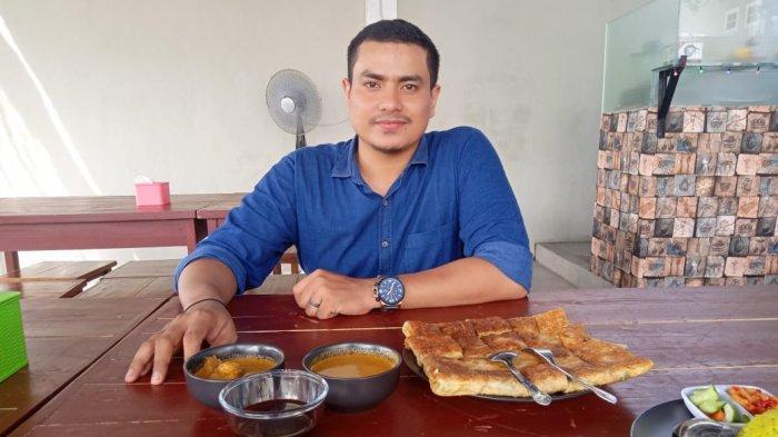 Martabak Faliel Tempat Makan di Jambi Berkonsep Khas India, Ada Atraksi Chef Banting-Putar Adonan