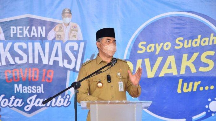 Kasus Covid Melandai Kota Jambi PPKM Level 2, Syarif Fasha Minta Jangan Euforia
