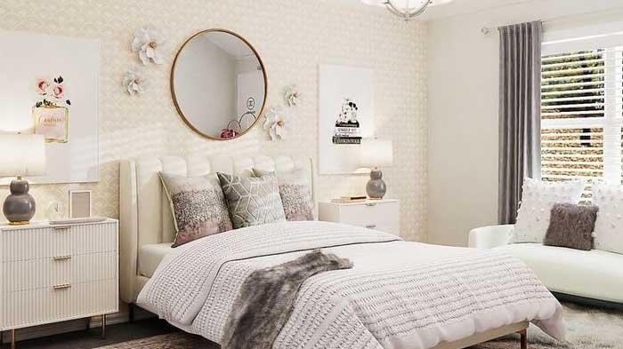 Feng Shui Warna Cat Dinding Kamar Tidur, Warna Putih untuk Kesederhanaan