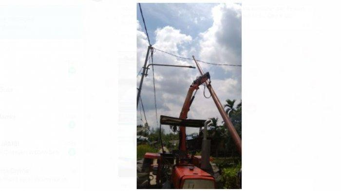 PT PLN ( Persero ) meresmikan selesainya Pembangunan Jaringan Listrik di 19 Desa di Kabupaten Tanjung Jabung Barat, Provinsi Jambi pada Rabu (11/11) secara virtual.