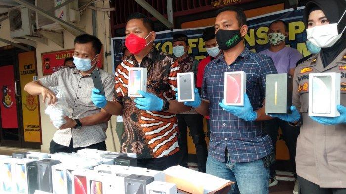 Jual Ratusan iPhone Black Market,Pemilik Toko Ponsel Diringkus Polisi setelah 6 Bulan Operasi