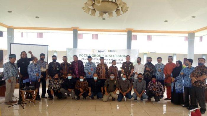 Tiga Lembaga Lingkungan di Jambi Gelar FGD Terkait Perlindungan Masyarakat Adat, SAD, & Talang Mamak