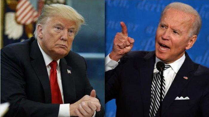 Donald Trump Ancam Joe Biden Jangan Sembarangan Klaim Kemenangan Pilpres AS, akan Proses Hukum