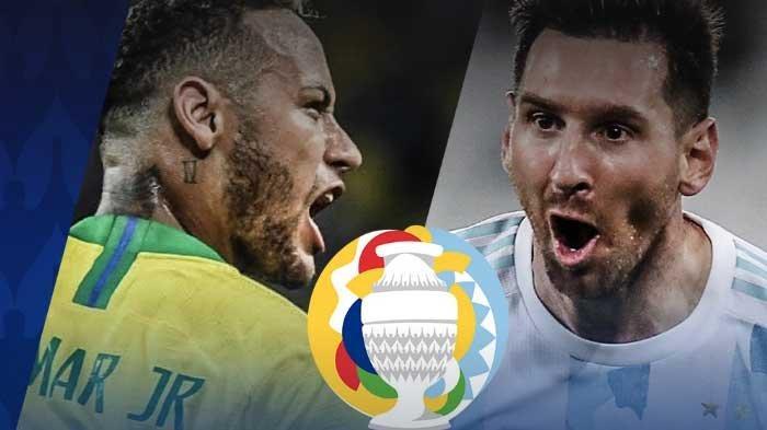 Messi Akan Berjuang Mati-Matian, Prediksi Hasil Pertandingan Final Copa America Brazil vs Argentina