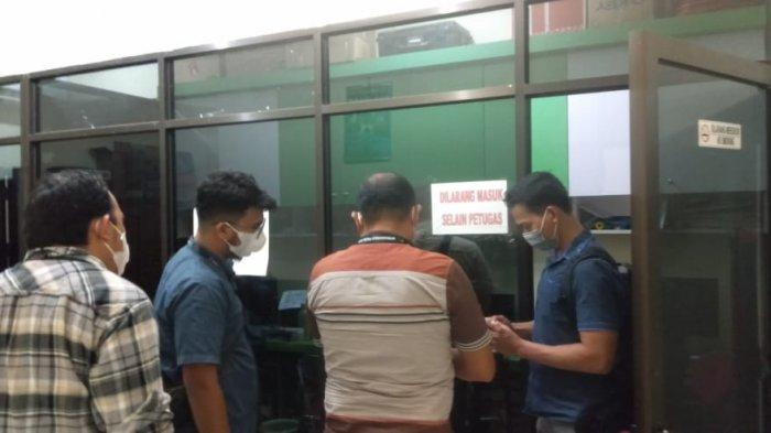 Tim Forensik Mabes Polri Periksa Kantor Dinas Dukcapil Kota Jambi