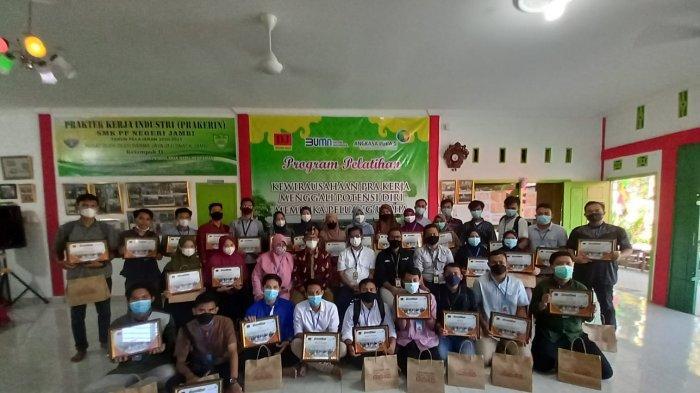 Info Bandara Jambi, PT AP ll Bandara Sultan Thaha Jambi Beri Pelatihan Kewirausahaan Pra Kerja