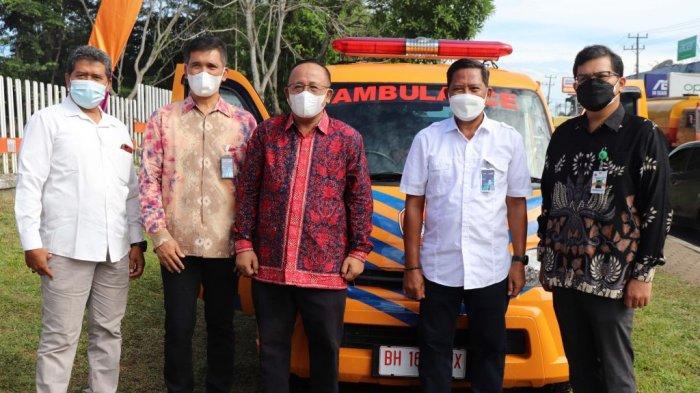 Unja Mendapat Bantuan Satu Unit Ambulance