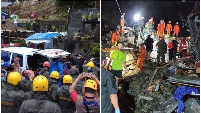 Banjir dan Tanah Longsor di Manado, 500 Warga Mengungsi, 2 Rumah Rusak Berat