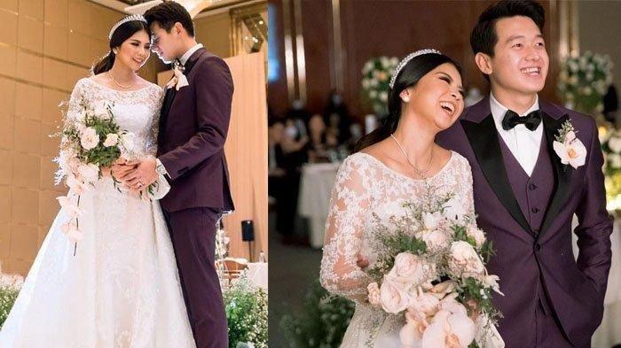 Foto pernikahan Greysia Polii