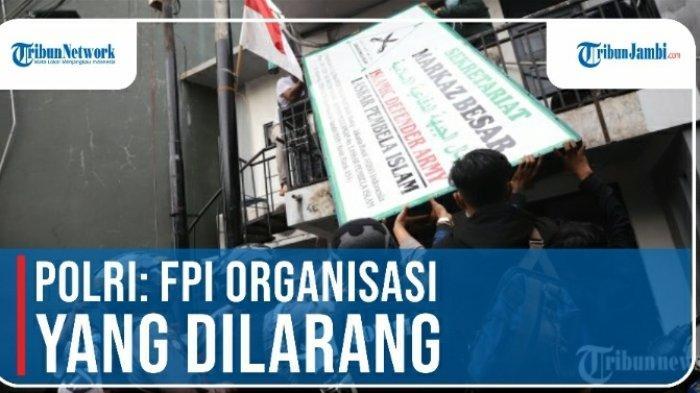 FPI dibubarkan