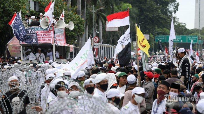 Hari Ini FPI Gelar Aksi Tolak UU Cipta Kerja di Jakarta, Polri Siapkan 500 Personel Untuk Pengamanan