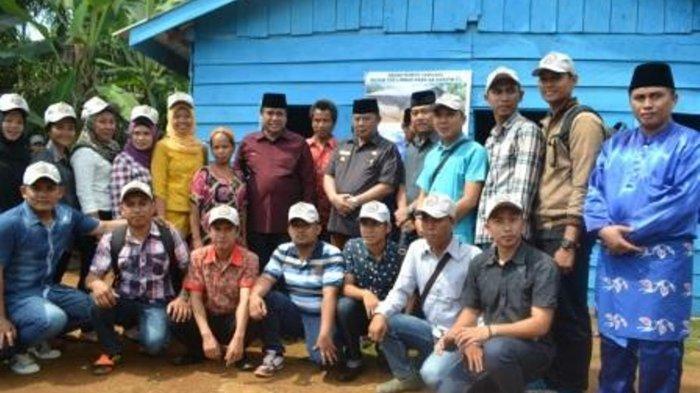 Syarkoni: Bantuan Bedah Rumah Itu Sejak SZ Jabat Bupati Sangat Banyak Link di Pusat