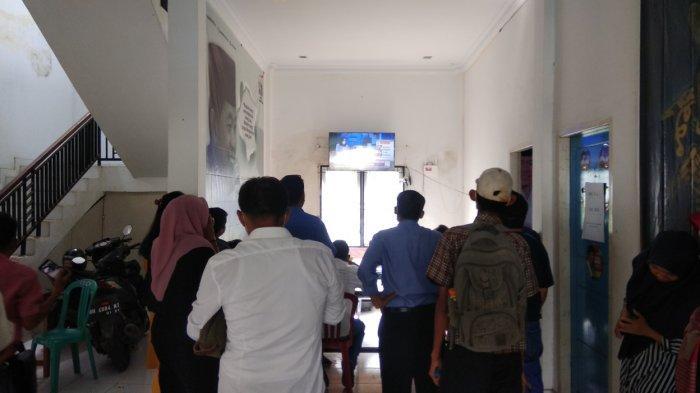 Survei LSI Haris-Sani Unggul Sementara, Begini Suasana di Posko Pemenangan