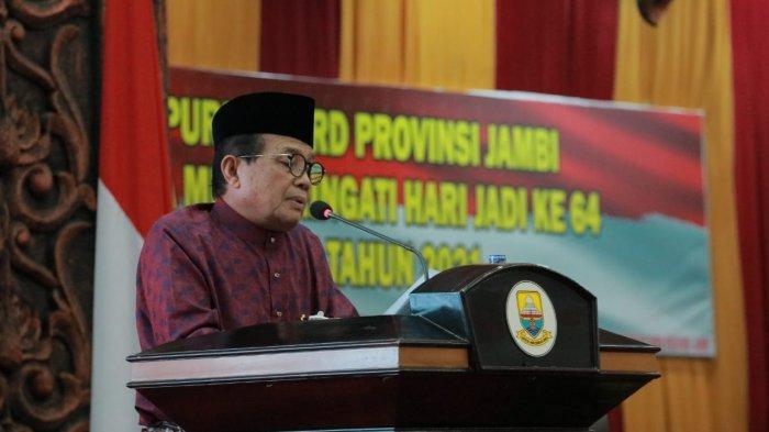 Fachrori Kemukakan Capaian Provinsi Jambi Ditengah Pandemi Covid-19
