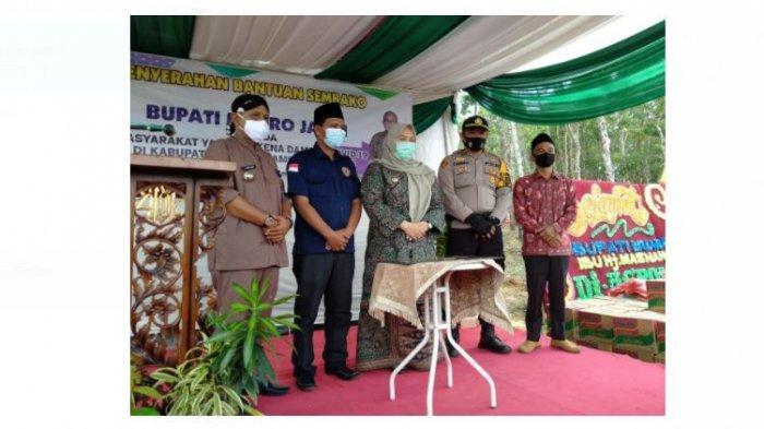 Launching Villa Agronesia, Bupati Masnah Busro Yakin Tingkatkan Perekonomian Masyarakat Muaro Jambi