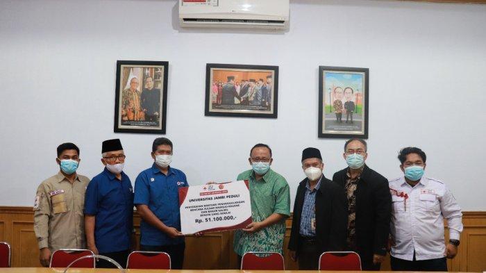 Berbuat Nyata, Universitas Jambi Peduli Bencana Kalimantan dan Sulawesi