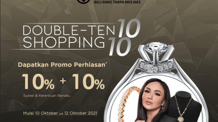 Manjakan Setiap Pengunjung, Galeri 24 Beri Promo Double Ten Shopping 10 10