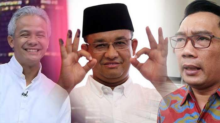 Anies Baswedan Paling Diiginkan Anak Muda Jadi Presiden 2024 Disusul Ganjar dan Ridwan Kamil