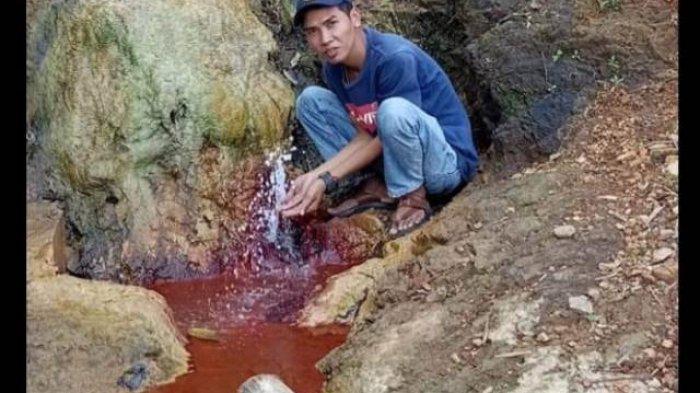 Unik Pegunungan di Batang Asai Sarolangun Hasilkan Air Asin, Bisa Hasilkan Garam, Dikenal Garam Inum