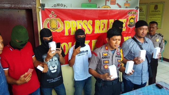 Tiga PNS Kemenkumham Jambi Maling Barang Bukti di Kantor Rupbasan, Akhirnya Jadi Tersangka
