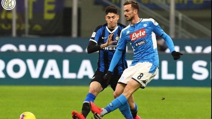 Highlight Pertandingan & Cuplikan Gol Inter Milan vs Napoli, Siaran Langsung Semifinal Coppa Italia