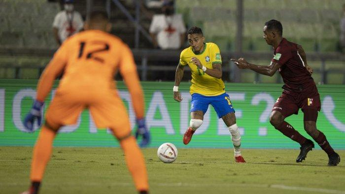 LINK NONTON Kolombia vs Brasil di Kualifikasi Piala Dunia 2022 Zona Conmebol, Selecao Unggul H2H