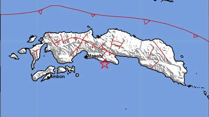 Gempa Terjadi Lagi di Maluku Tengah Malam Ini dengan Magnitudo Lebih Kecil Dibanding Siang