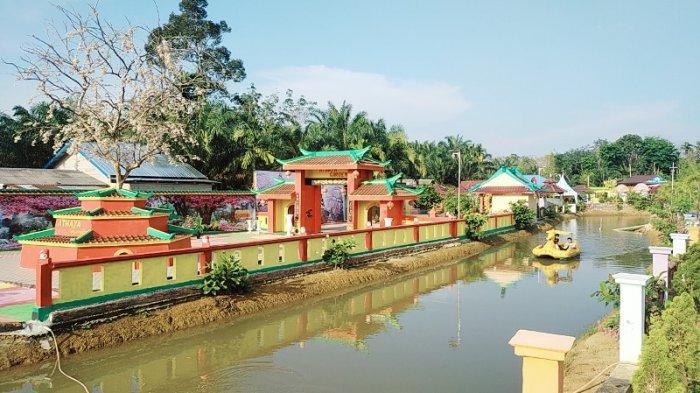 Athaya Garden Nan Eksotis, Sulap Kebun Karet dan Sawit jadi Objek Wisata Lengkap