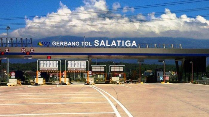 Viral, Lagi nge-Hits, Gerbang Tol Salatiga dengan Background Gunung Merbabu