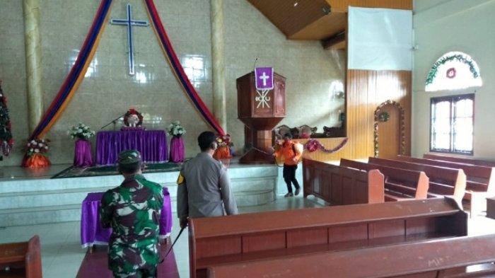 Perayaan Natal di Bungo, Sejumlah Gereja Disemprot Desinfektan, Ini Daftarnya