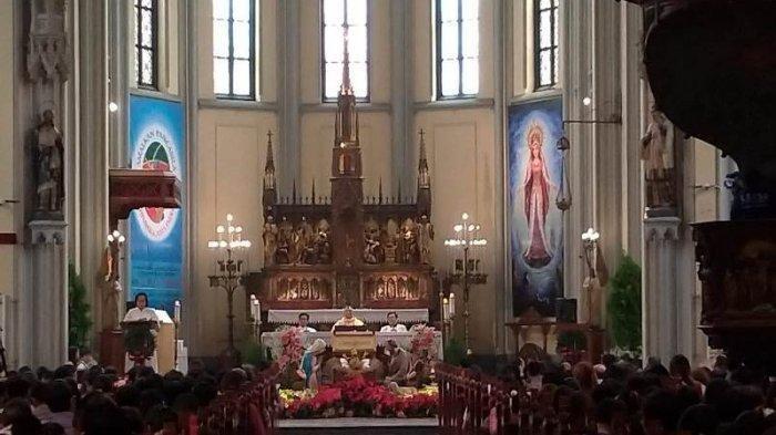 Jadwal Live Streaming Misa Pekan Suci di Gereja Katolik Katedral Jakarta, Minggu Palma s/d Paskah