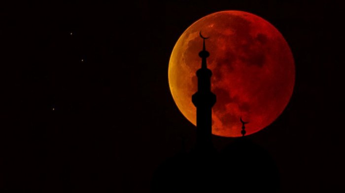 Bacaan Doa & Tata Cara Salat Khusuf Gerhana Bulan