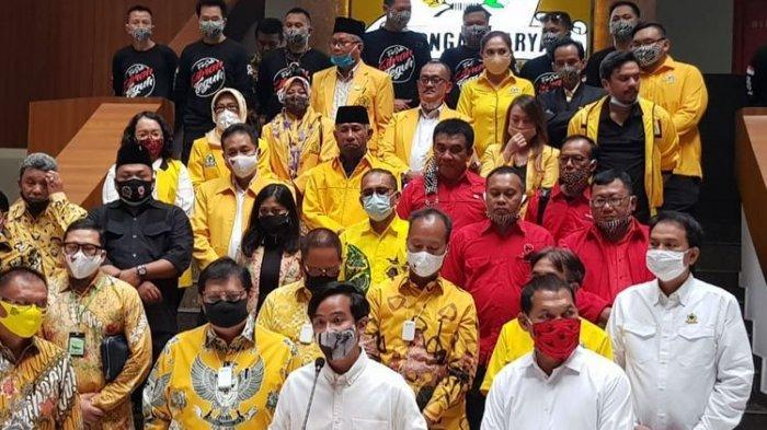 Bakal calon Wali Kota Solo, Gibran Rakabuming Raka, di kantor DPP Golkar, Jl Anggrek Neli Murni, Jakarta, Rabu (12/8/2020).