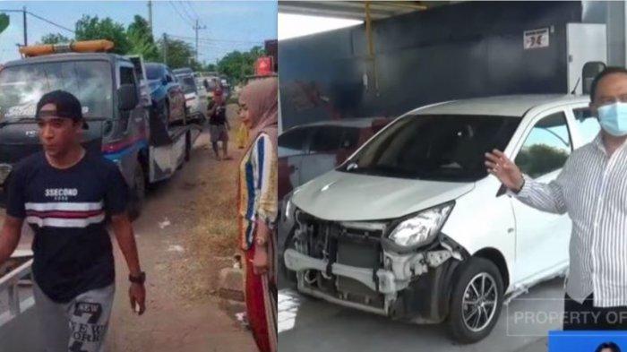 Belum Seminggu Keluar Dealer, Mobil Miliarder Dadakan di Tuban banyak Ringsek Karena Kecelakaan