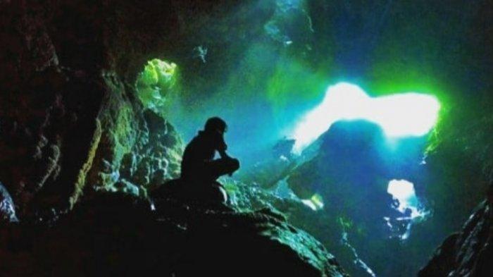 Objek Wisata Goa Bujang Merangin, Dengan Keindahan yang Eksotis, Air Terjun Dalam Goa