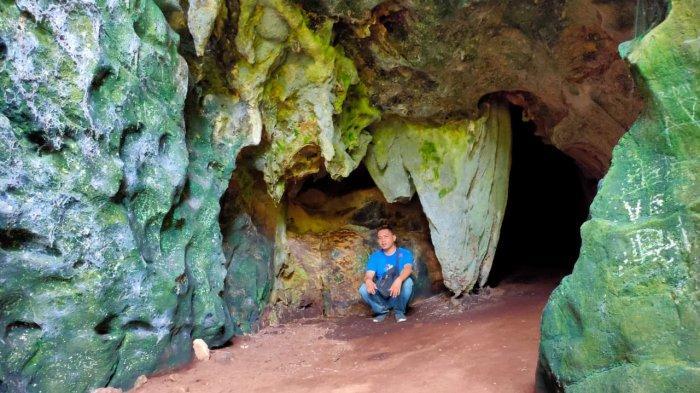 TRAVEL JAMBI Keunikan Batu Goa Petekun di Merangin, Eksotis dan Tumbuh dari Atas Bawah