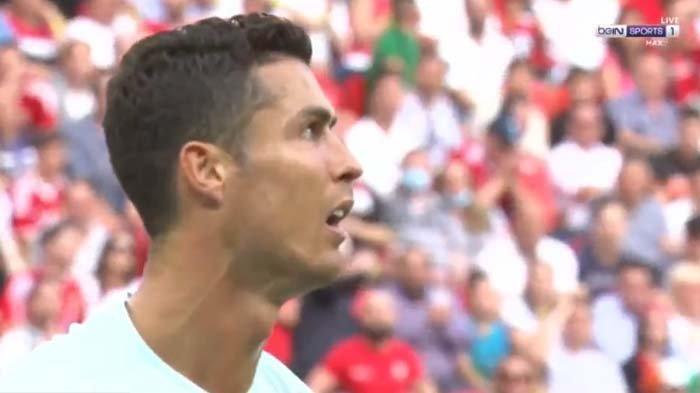 Cristiano Ronaldo Gagal Cetak Gol, Babak Pertama Pertugal vs Hungaria Berakhir Imbang
