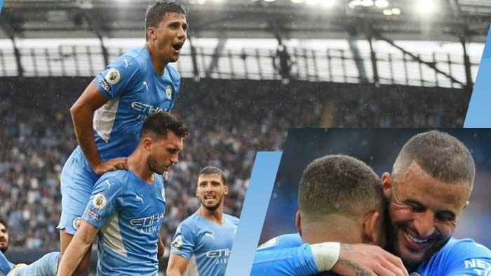 Selebrasi Gol Pemain Manchester City