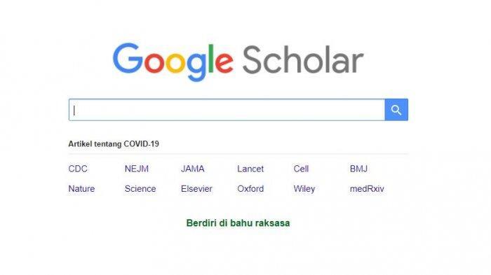 Cara Mudah Gunakan Google Cendekia, Aplikasi yang Dibuat Untuk Membantu Pelajar hingga Mahasiswa