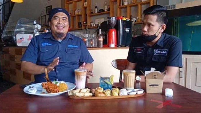 Kuliner Jambi, Lezatnya Menu Makan Siang Ayam Bakar Bambu di Goresan Coffee