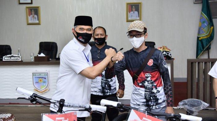 Pertama di Sumatera Pemkot Jambi Sukses Gelar Gowes Virtual, Wali Kota Fasha Apresiasi Goweser Jambi