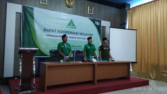 PW GP Ansor Jambi Gelar Rakorwil dan Deklarasikan Gerakan Rabu Putih