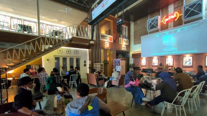 Diskusi besama Green Justice Indonesia (GJI).