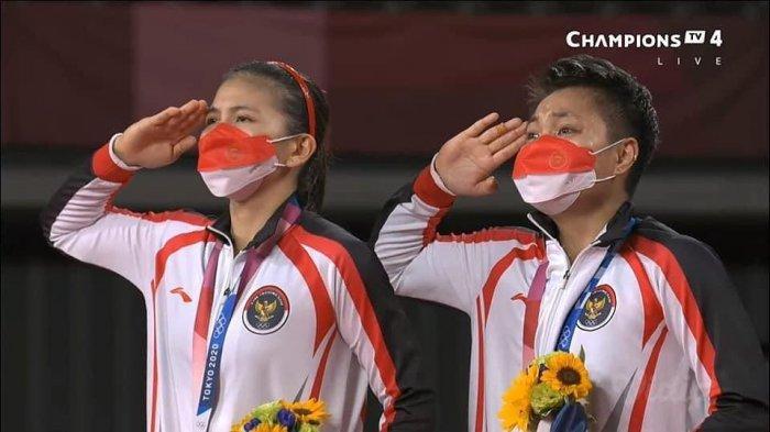 Video Detik-detik Greysia/Rahayu Menang Badminton Olimpiade, Wakil China Ngotot Minta Challenge