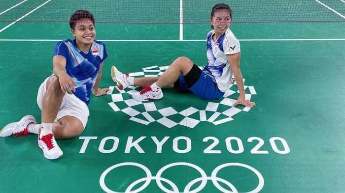 100 Menit Lawan Wakil China, Gerysia/Apriyani Tembus Semifinal Badminton Olimpiade Tokyo 2020